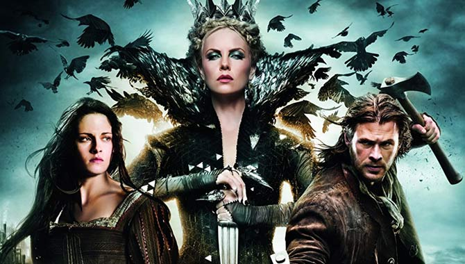 Charlize Theron played the Evil Queen in 'Snow White and the Huntsman'