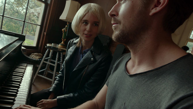 Ryan Gosling and Rooney Mara in Song To Song