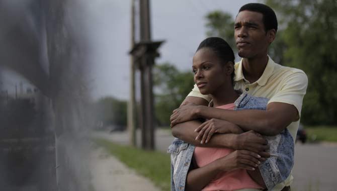 Parker Sawyers and Tika Sumpter in 'Southside With You' 2