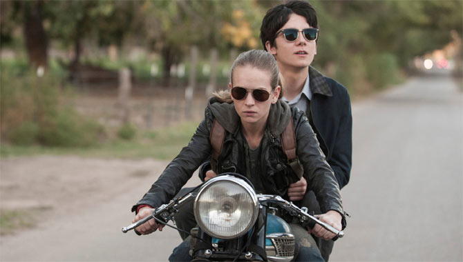 Britt Robertson And Asa Butterfield Like The Non Sci-Fi Aspect Of The Space Between Us