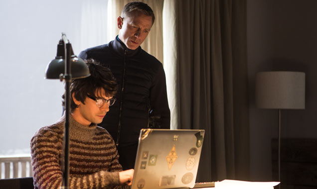 Ben Wishaw and Daniel Craig in Bond movie 'Spectre'