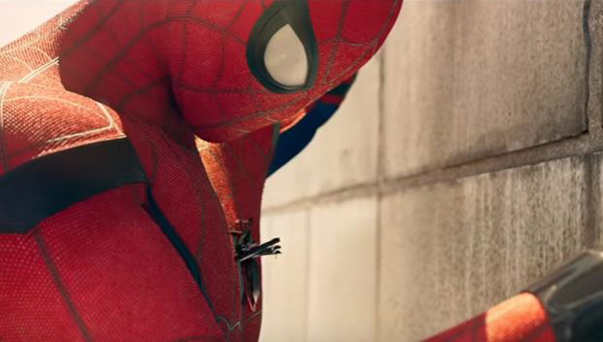 Tom Holland plays Peter Parker in 'Spider-Man: Homecoming'