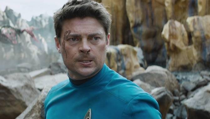 Karl Urban in Star Trek Beyond