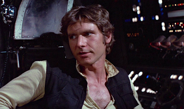 Harrison Ford in 'Star Wars: A New Hope'