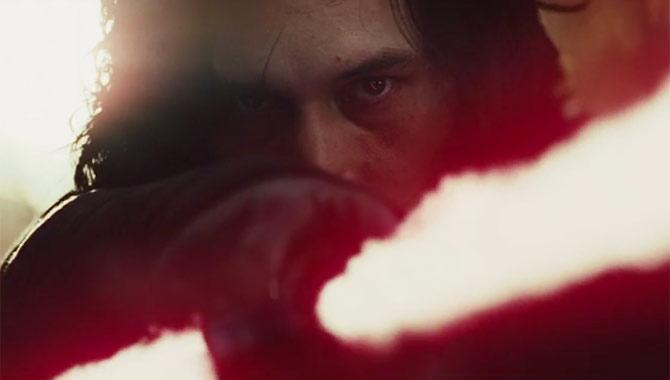 Adam Driver returns as Kylo Ren in 'The Last Jedi'