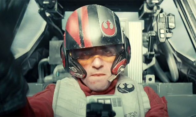Oscar Isaac is sure to become a new favourite as Poe Dameron