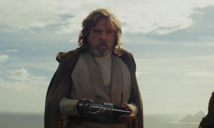 Mark Hamill in 'Star Wars: The Last Jedi'