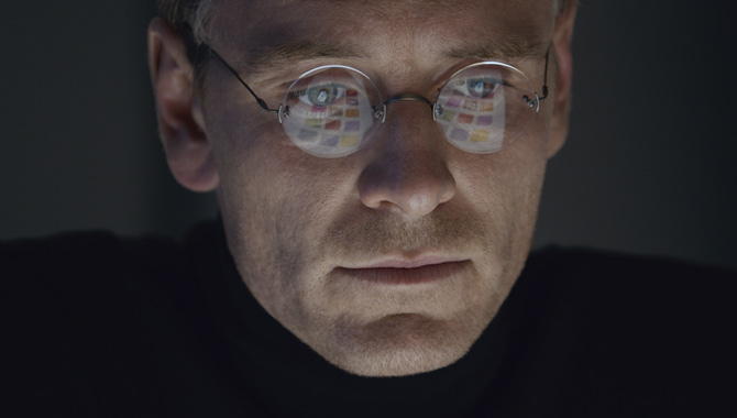 Michael Fassbender in 'Steve Jobs'