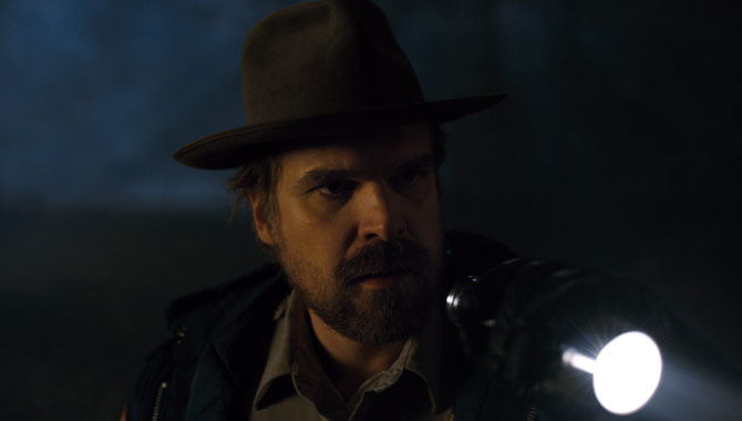David Harbour returns as Chief Hopper in Stranger Things Season 2