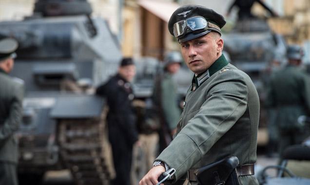 Matthias Schoenaerts as Bruno von Falk in 'Suite Française'