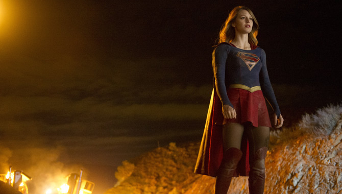 Get Your First Look At Tyler Hoechlin As Superman In 'Supergirl' Season 2