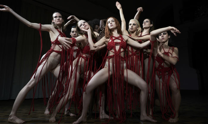 The cast of Suspiria