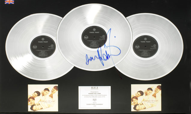 Robbie Williams charity auction 2