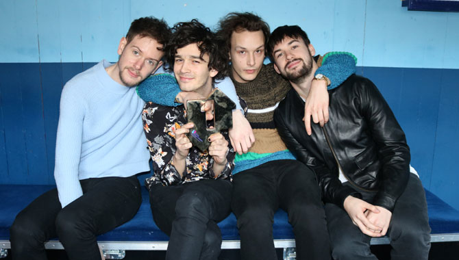 The 1975 Land First Ever Billboard Number One With 'I Like It When You Sleep...'