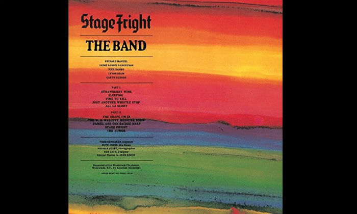 Stage Fright - The Band