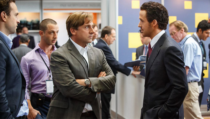 Ryan Gosling also stars