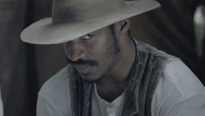 Nate Parker plays Nat Turner in The Birth Of A Nation