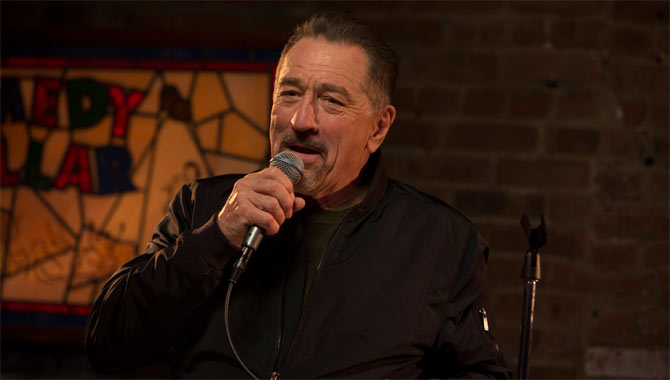 Robert De Niro Challenged Himself With The Comedian