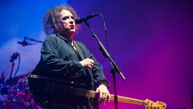 The Cure perform at Wembley in 2016