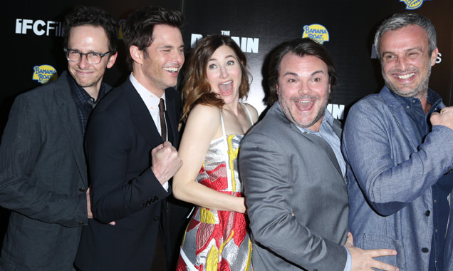 Jarrad Paul, James Marsden, Kathryn Hahn, Jack Black and Andrew Mogel