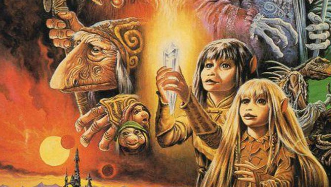 The Dark Crystal was released in 1982