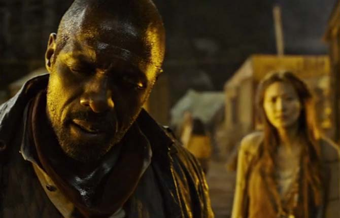 Idris Elba's character is also known as Roland Deschain