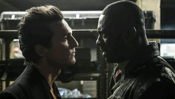 Matthew McConaughey and Idris Elba in The Dark Tower