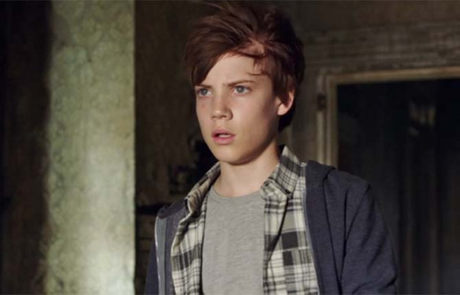 Young actor Tom Taylor also stars in the flick