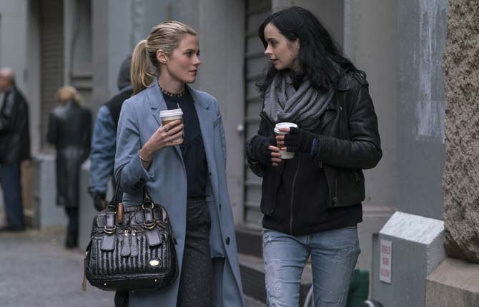 Rachael Taylor and Krysten Ritter return for 'The Defenders'