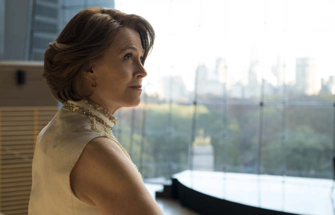 Sigourney Weaver as Alexandra in 'The Defenders' / Cr: Sarah Shatz