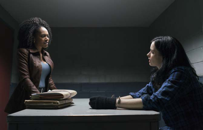 Simone Missick and Krysten Ritter star in 'The Defenders'
