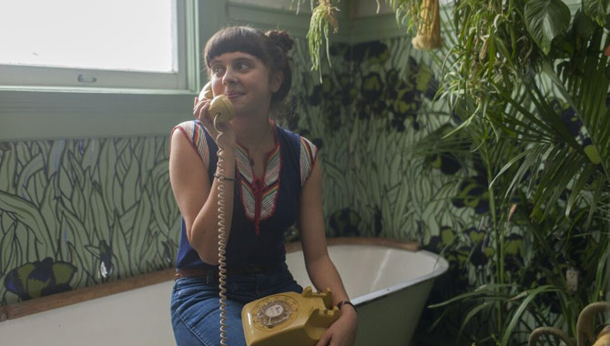 Bel Powley in 'The Diary of a Teenage Girl'