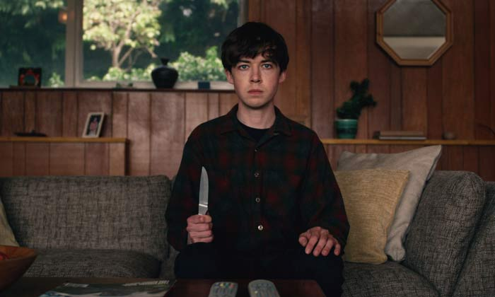 Alex Lawther in 'The End of the F***ing World'