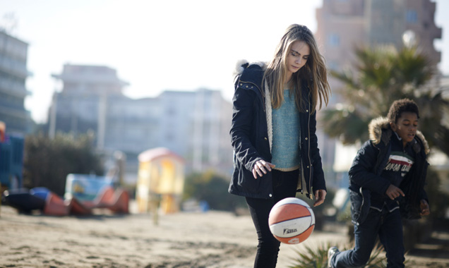 Cara Delevingne in 'The Face Of An Angel' 2