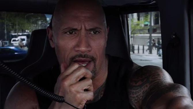 Dwayne 'The Rock' Johnson stars in 'Fast & Furious 8'