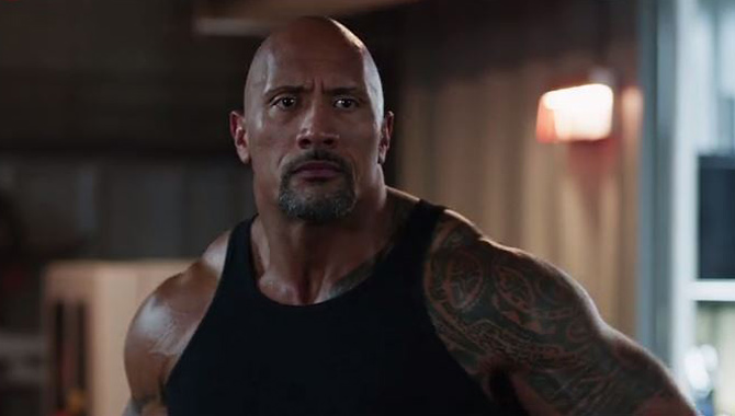Dwayne Johnson stars in 'The Fate of the Furious'