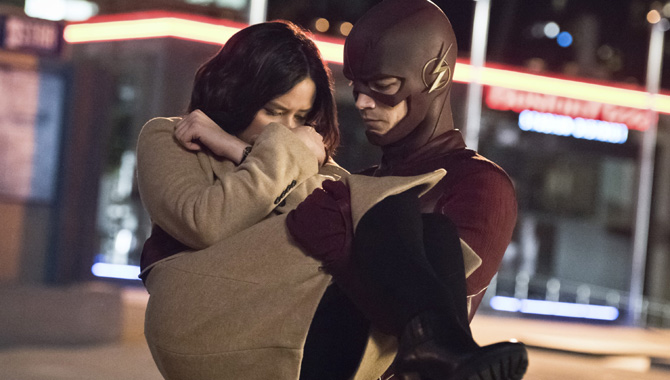 Grant Gustin stars as the titular hero in 'The Flash'