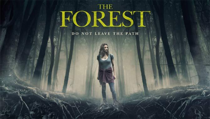 Natalie Dormer stars in The Forest