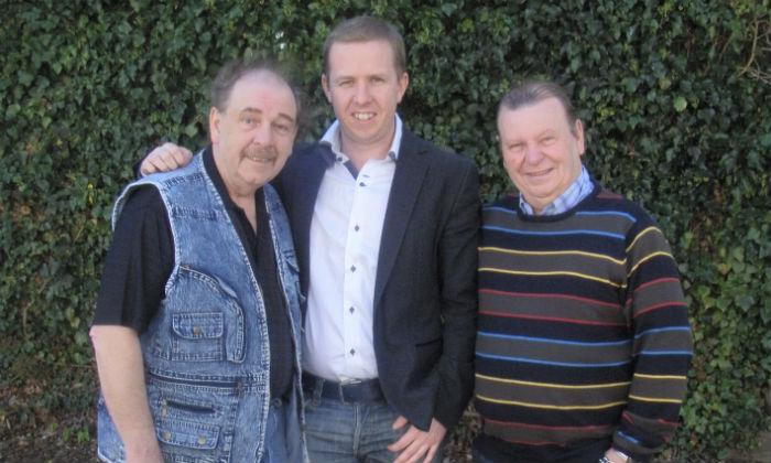Kevin Palmer meets The Fureys
