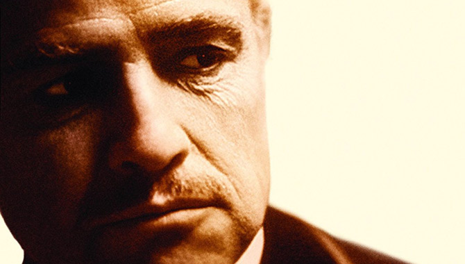 Marlon Brando starred in 1972's 'The Godfather'