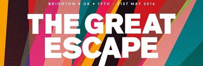 The Great Escape 2016 logo