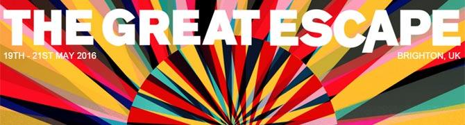 The Great Escape 2016 logo