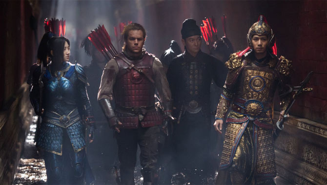 Matt Damon Explains His Role In The Great Wall