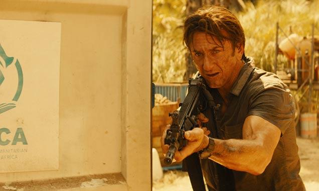 Sean Penn in 'The Gunman'