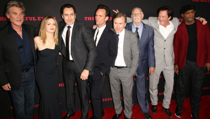 'No-One Writes Women Like Tarantino': Jennifer Jason Leigh Opens Up At 'The Hateful Eight' Premiere [Photos]