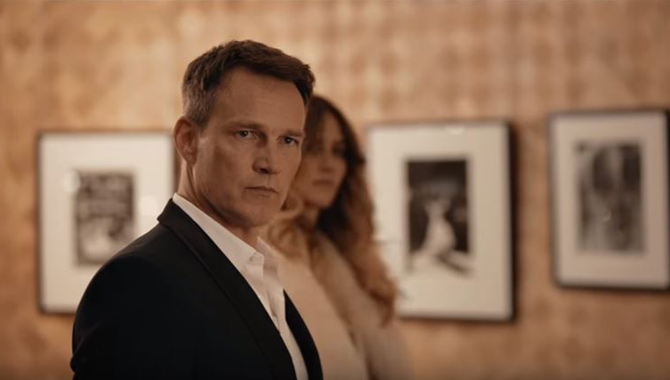 Stephen Moyer stars as Marcus Ford in 'The Hatton Garden Job'