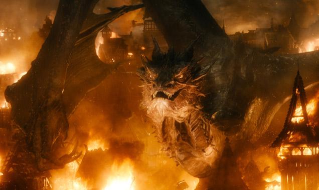 Benedict Cumberbatch voices the dragon