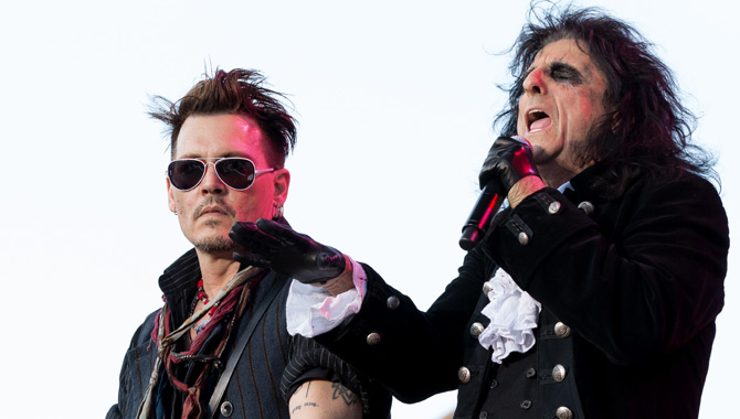 Best Covers From Alice Cooper And Johnny Depp's Supergroup The Hollywood Vampires