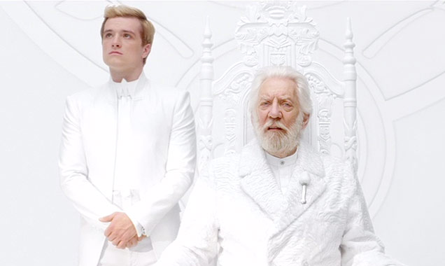 President Snow Peeta The Hunger Games: Mockingjay