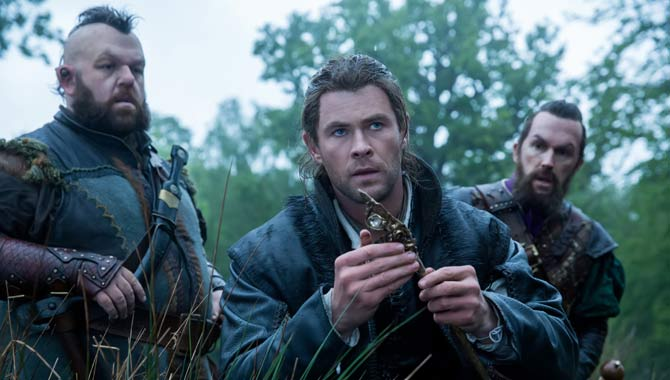 Chris Hemsworth Is Back In The 'Snow White' Prequel 'The Huntsman: Winter's War'